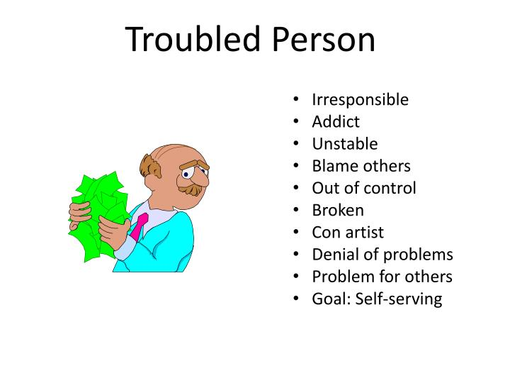 Troubled Person