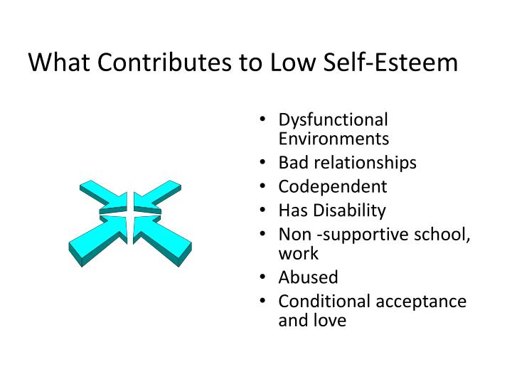 What Contributes to Low Self-Esteem