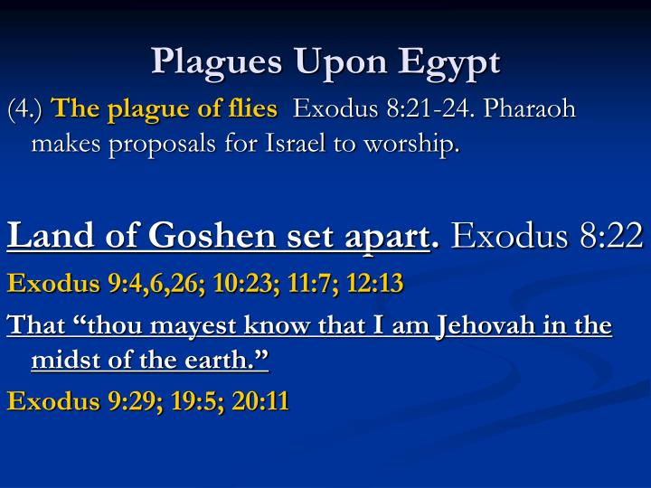 Plagues upon egypt1