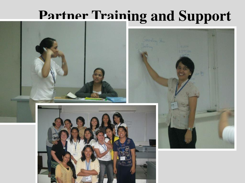 Partner Training and Support