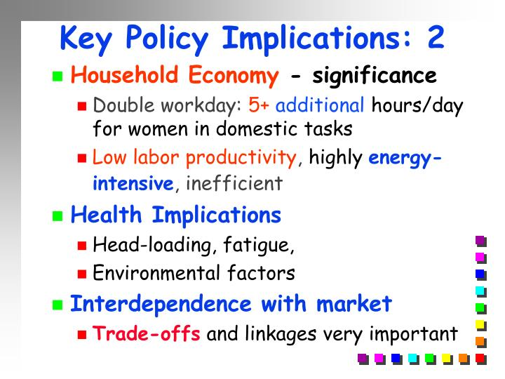 Key Policy Implications: 2