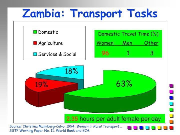 Zambia: Transport Tasks