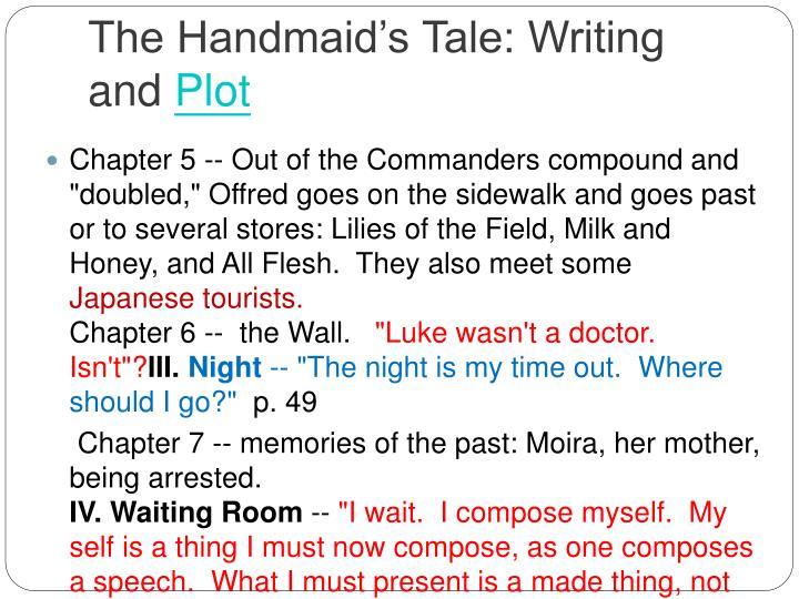 the handmaids tale 9 essay