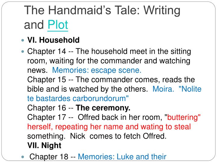 the handmaids tale 5 essay