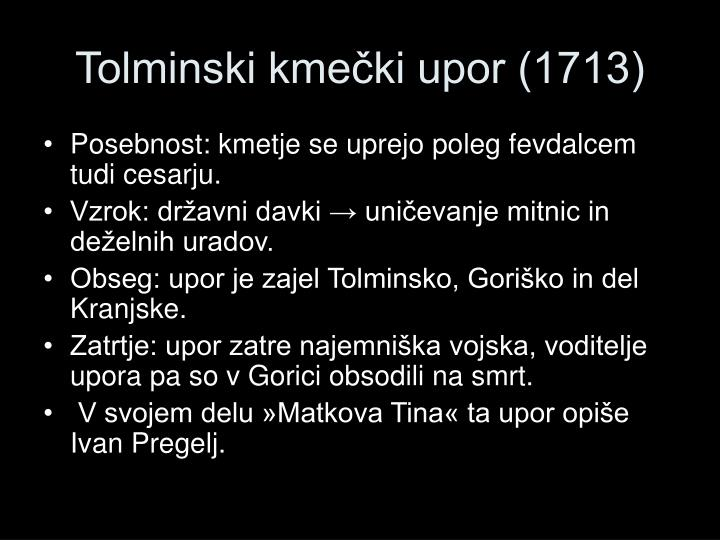 Tolminski kmečki upor (1713)