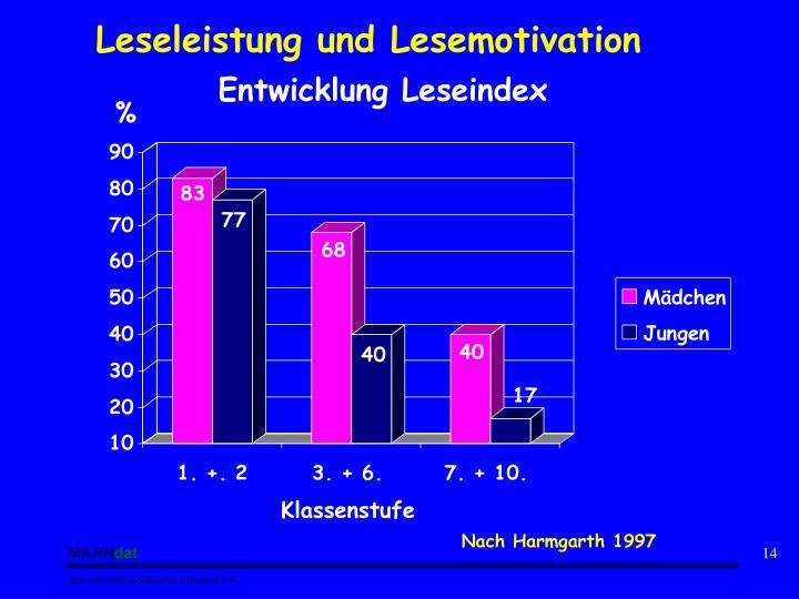 Leseleistung und Lesemotivation