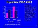 ergebnisse pisa 2003