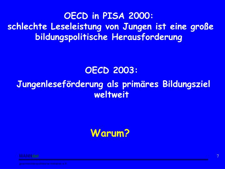 OECD in PISA 2000: