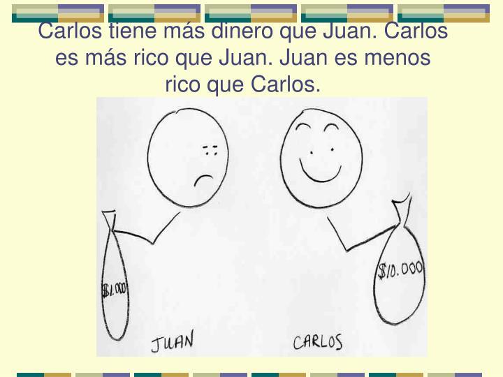Carlos tiene