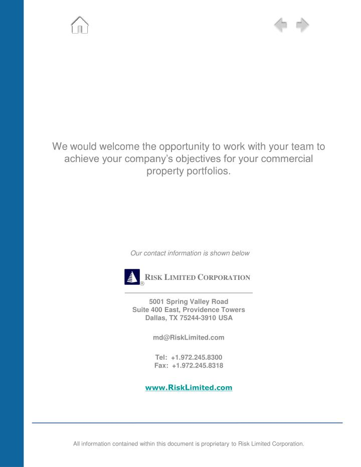 We would welcome the opportunity to work with your team to achieve your company's objectives for your commercial property portfolios.