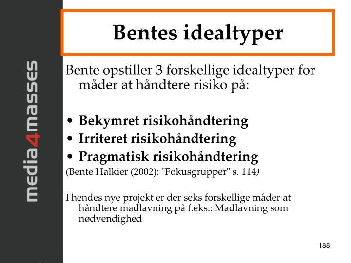 Bentes idealtyper