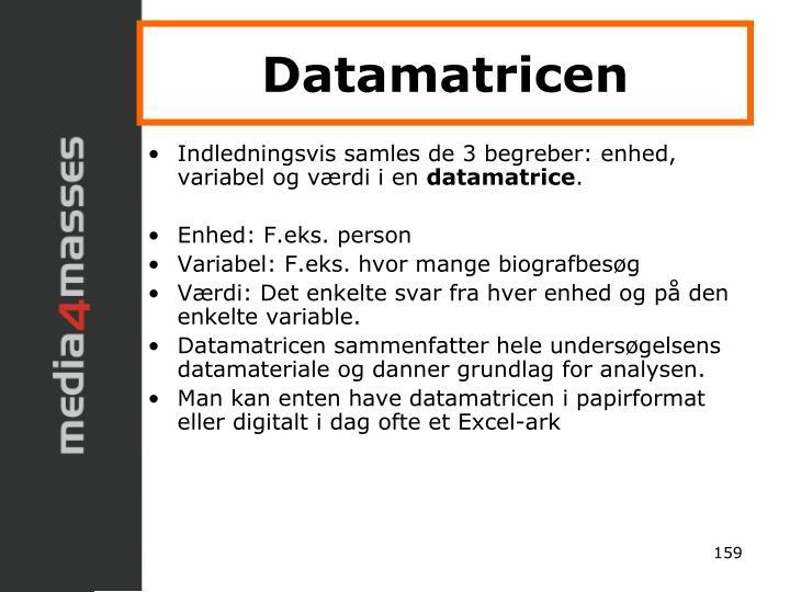 Datamatricen