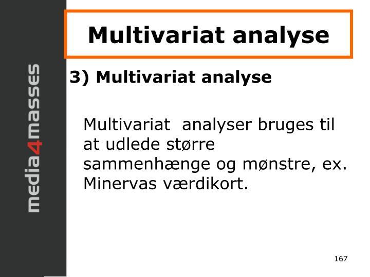 Multivariat analyse