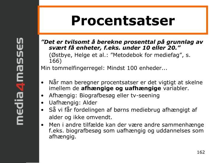 Procentsatser