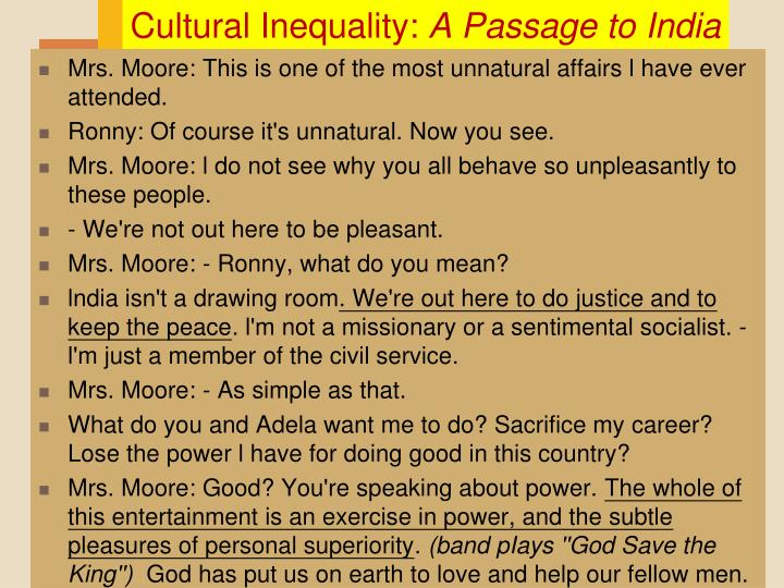 Cultural Inequality: