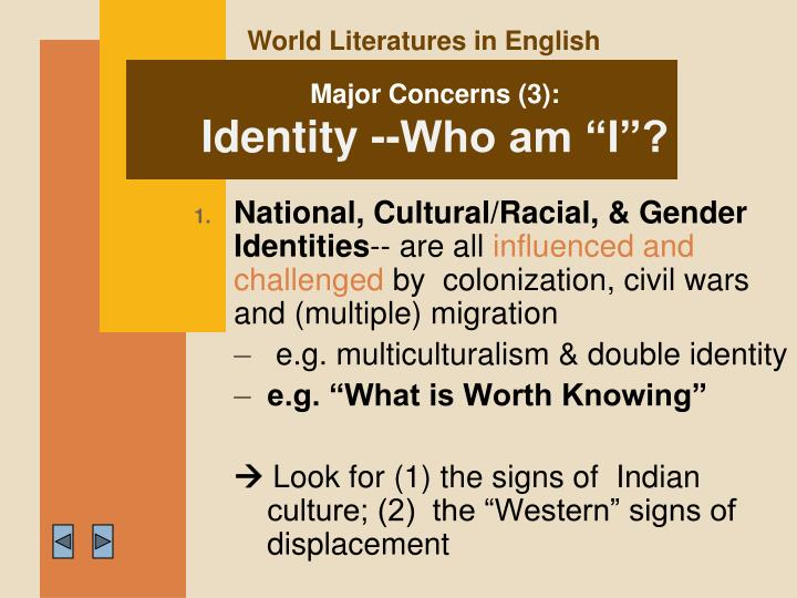 World Literatures in English