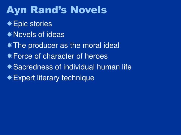Ayn Rand's Novels
