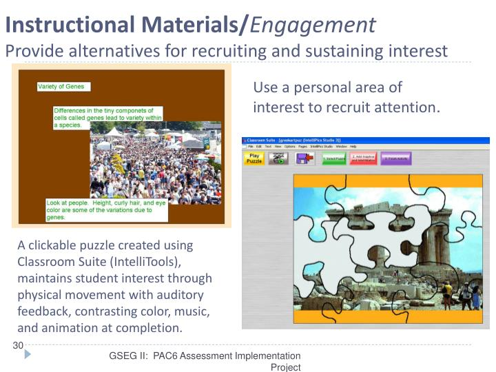Instructional Materials/