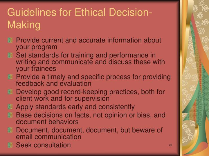 ethical decision making paper essay Read ethical decision making paper free essay and over 88,000 other research documents ethical decision making paper ethical decision making paper what are ethics and how do they affect decision-making.