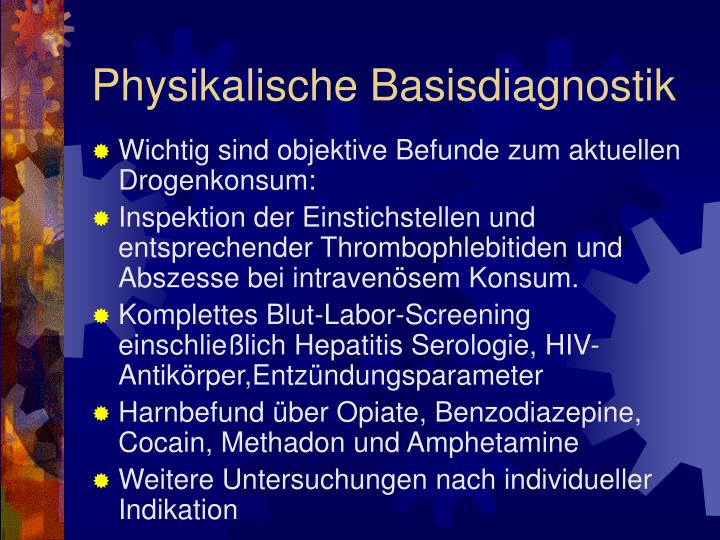 Physikalische Basisdiagnostik
