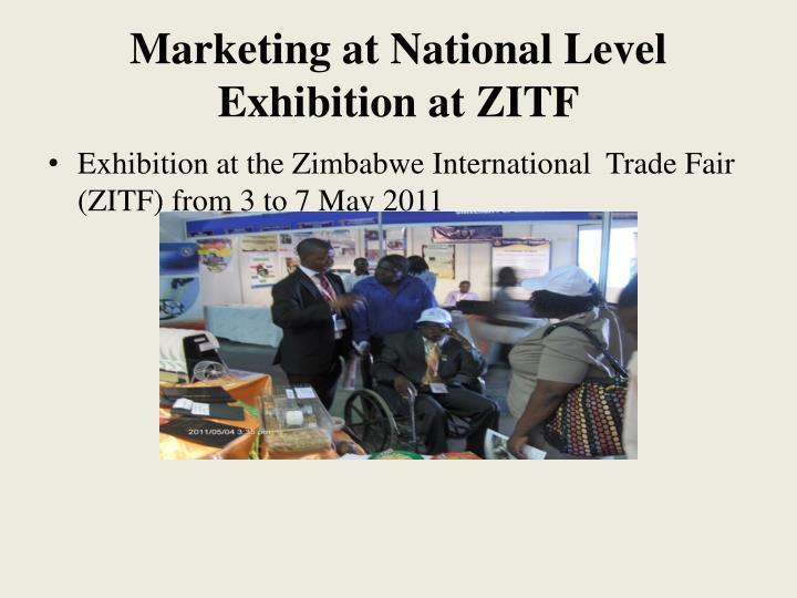 Marketing at National Level