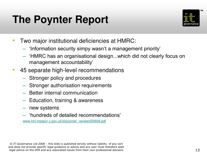 The Poynter Report
