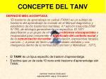 concepte del tanv