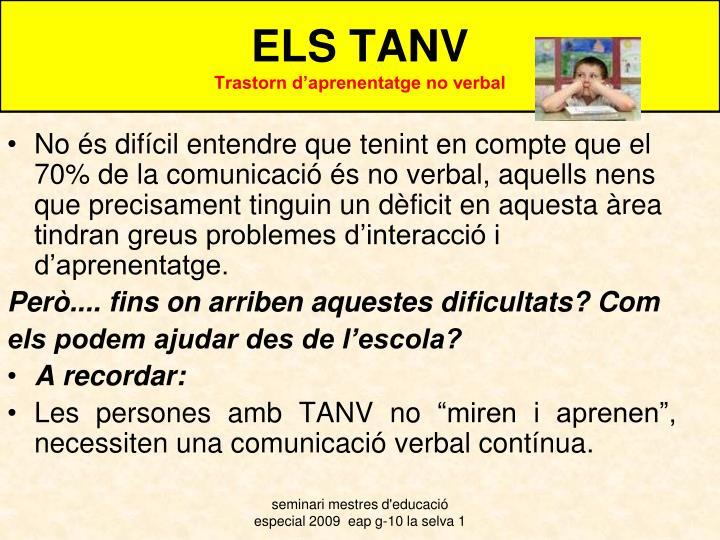 ELS TANV