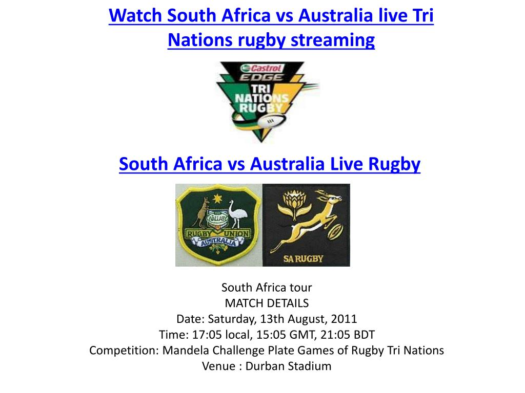 Watch South Africa