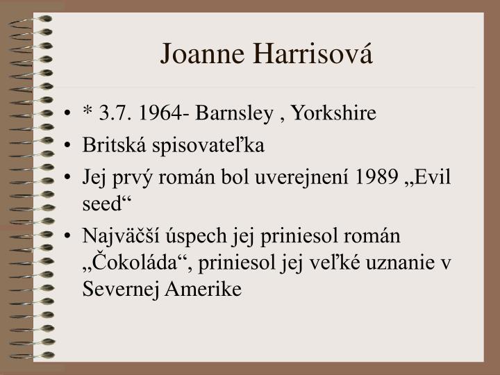 Joanne Harrisová