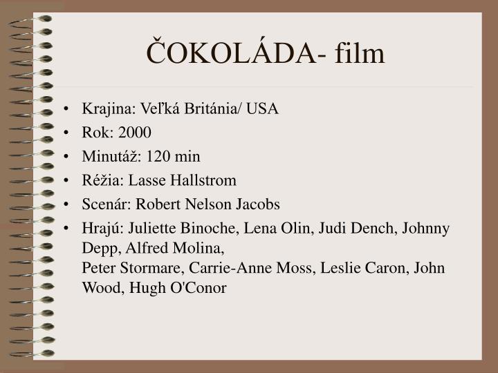 ČOKOLÁDA- film