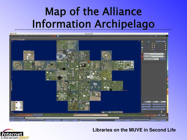 Map of the Alliance