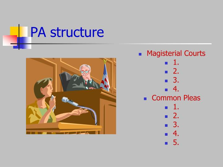 PA structure