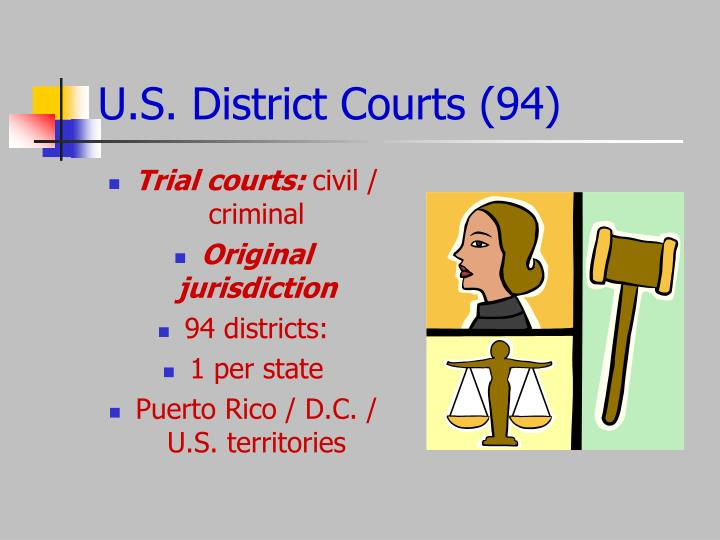 U.S. District Courts (94)