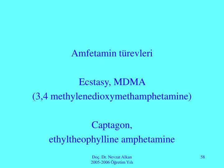 Amfetamin türevleri