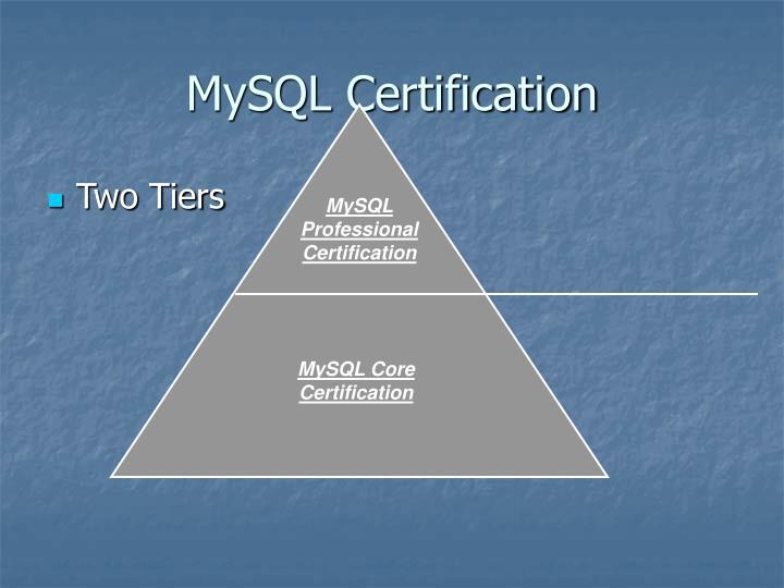 MySQL Certification