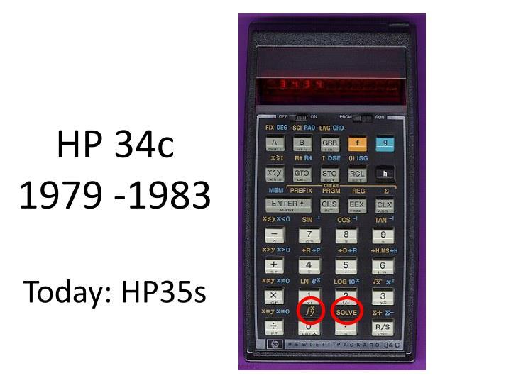 HP 34c
