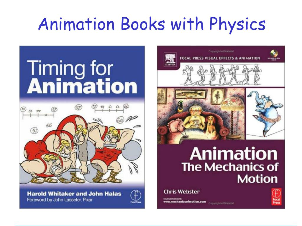 Animation Books with Physics