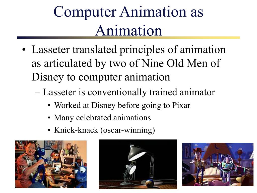 Computer Animation as Animation