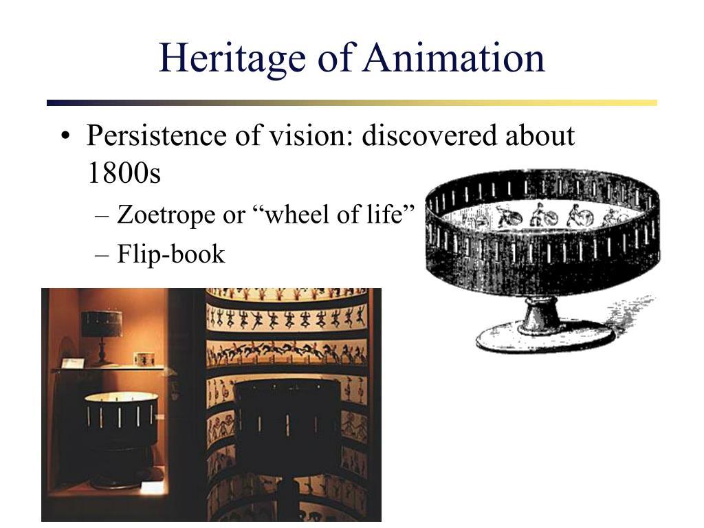 Heritage of Animation