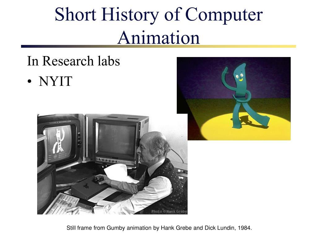 Short History of Computer Animation