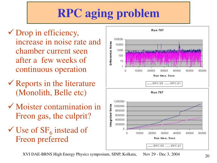 RPC aging problem