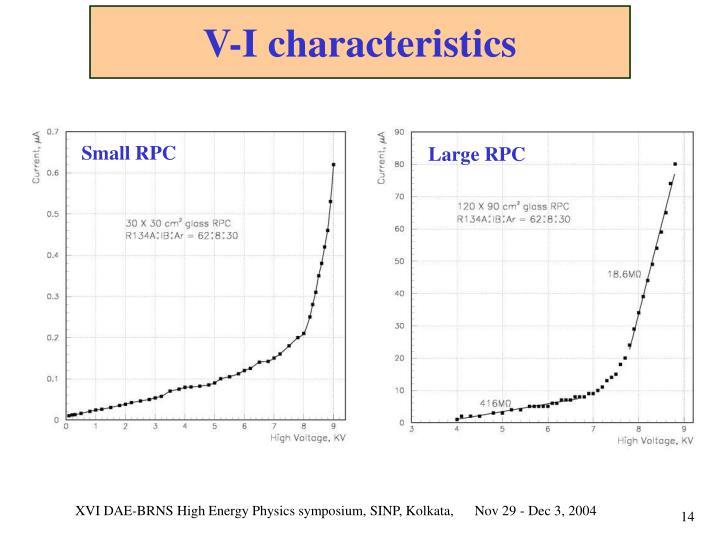 V-I characteristics
