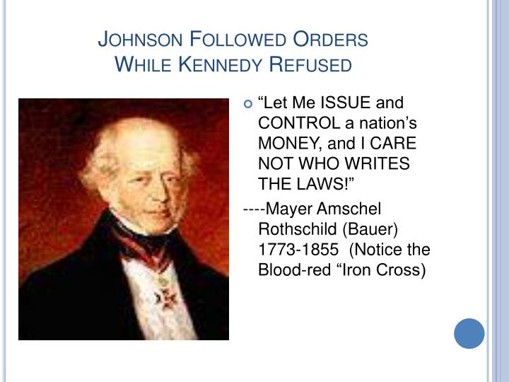 Johnson Followed Orders