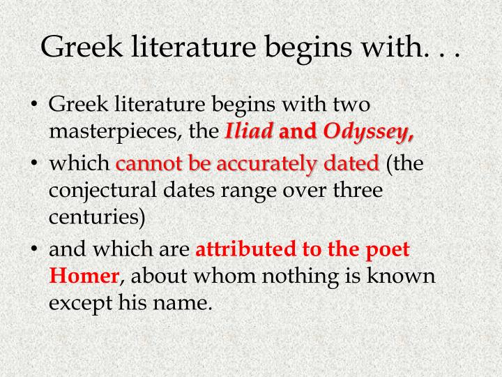 parallel motivations in the iliad and the odyssey essay