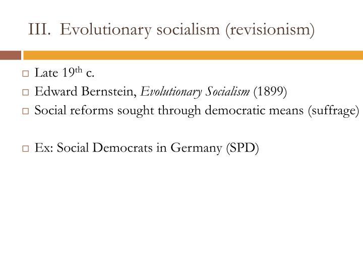Evolutionary socialism (revisionism)