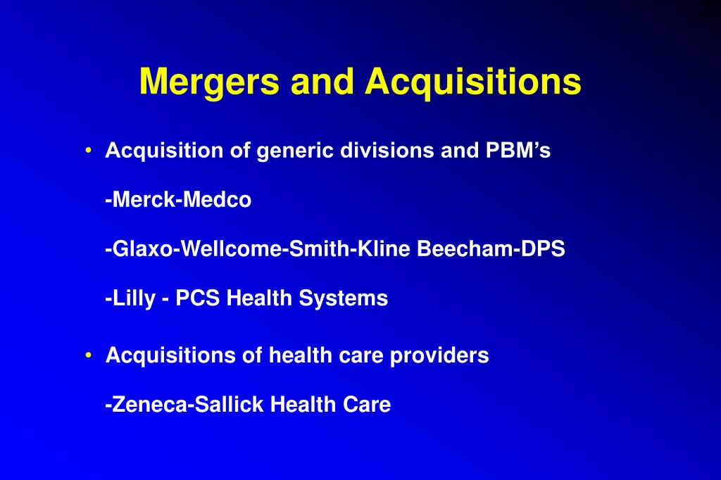 merck s acquisition of medco case 5 1 1 answer to case 51 merck acquisition of medco on july 28, 1993, merck & company, then the world's largest drug manufacturer, announced that it planned to - 1134005.
