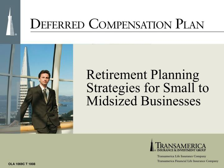 Retirement Planning Strategies for Small to