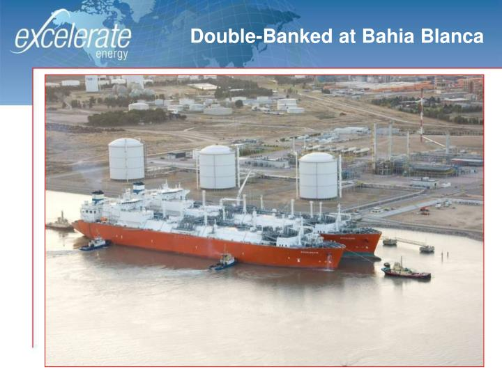 Double-Banked at Bahia Blanca