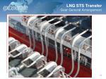 lng sts transfer gear general arrangement